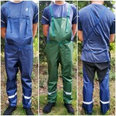 Garden overalls work trousers Protective clothing for worker