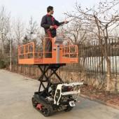 Crawler Orchard Pruning and Picking Lifting Platform Vehicle
