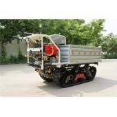 Multi-Functional Tracked Self-Discharge Crawler Truck Dumper