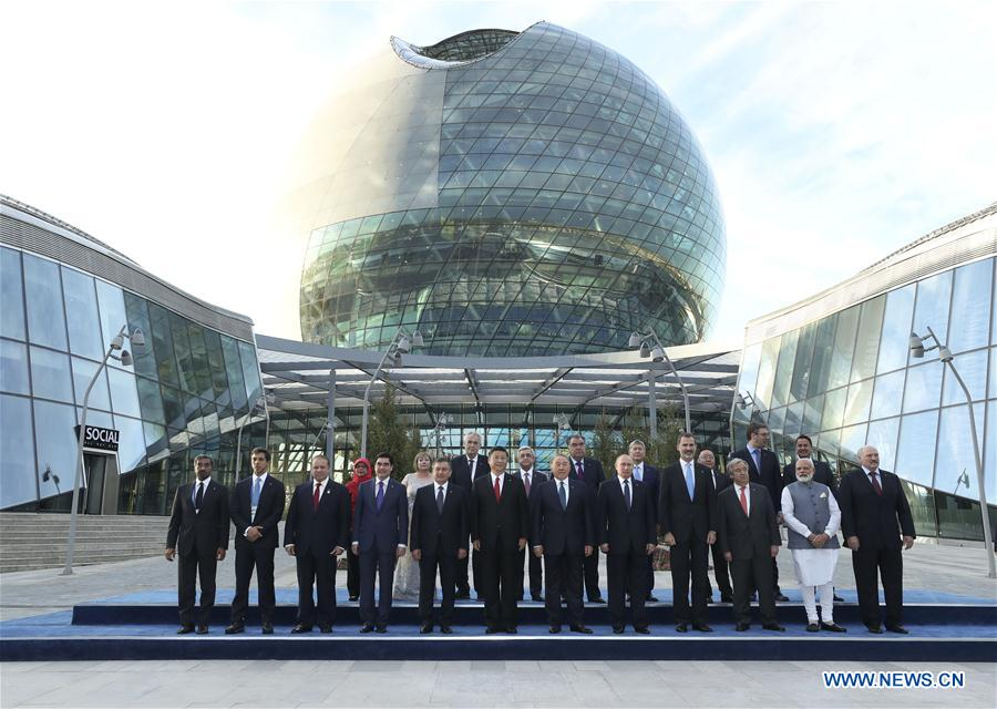KAZAKHSTAN-CHINA-XI JINPING-EXPO